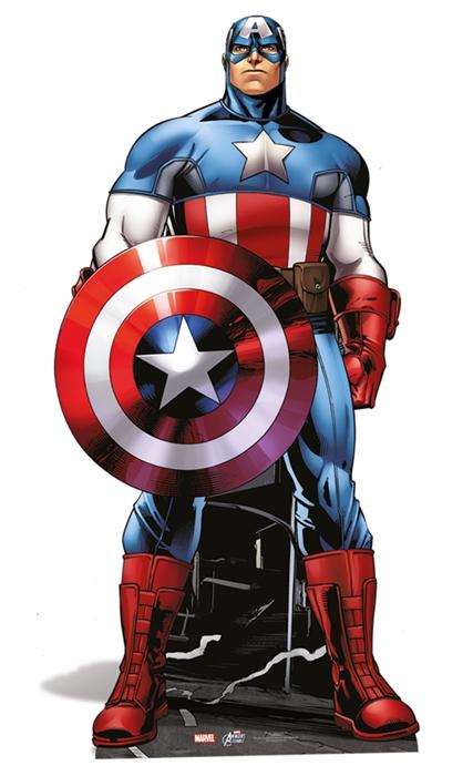 Captain America (Mini)- Cardboard Cutout