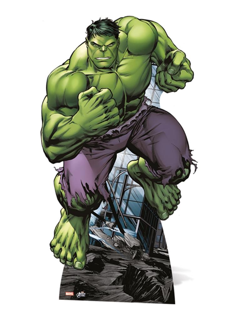 Hulk Star-Mini - Cardboard Cutout