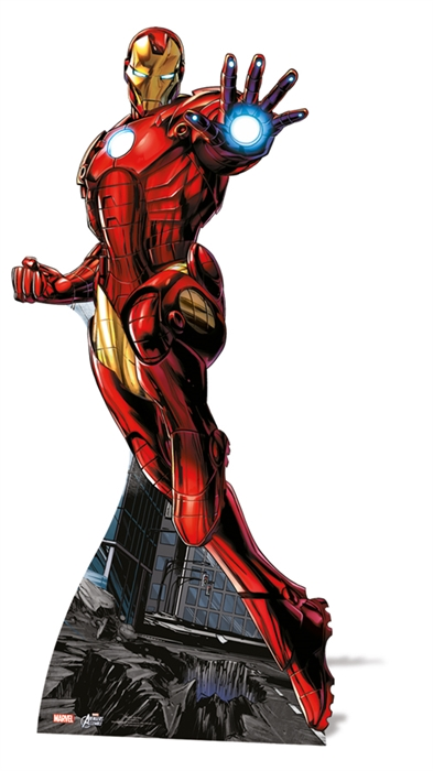 Ironman Star-Mini - Cardboard Cutout