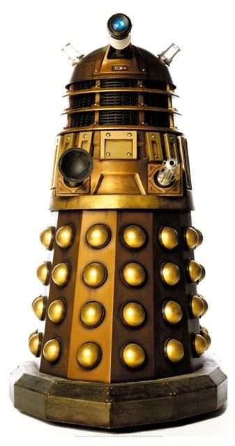 Dalek Caan Star-Mini - Cardboard Cutout