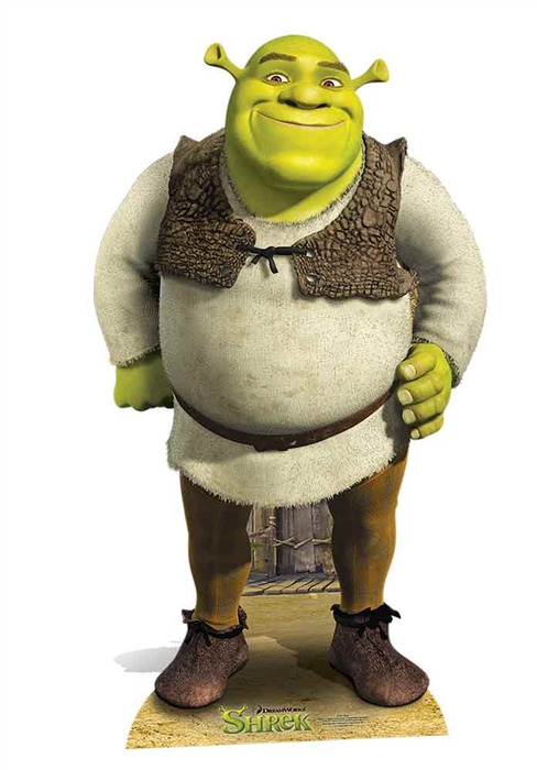 Shrek Star-Mini - Cardboard Cutout