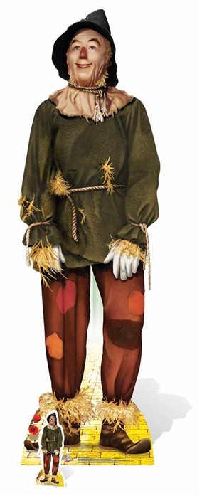 The Scarecrow from The Wizard of Oz - Cardboard Cutout