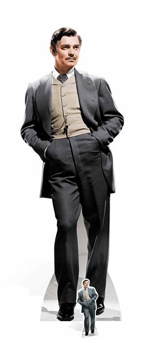 Rhett Butler Clark Gable Classic Gone With The Wind