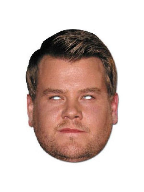 James Corden Face Mask