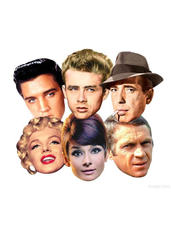 Hollywood Icon Face Mask Pack
