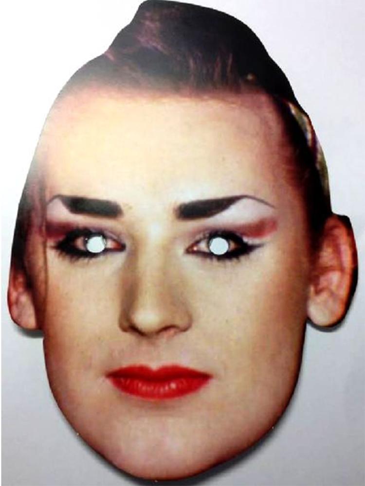 Boy George Face Mask