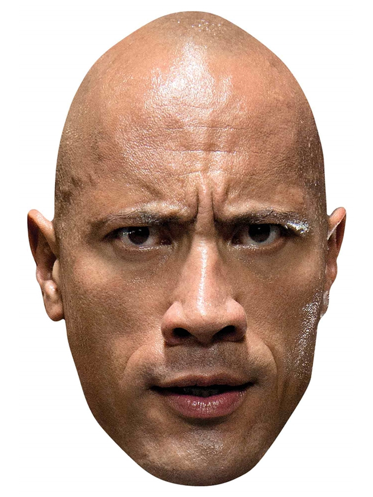 The Rock WWE Mask Great fun for family, friends and fans.
