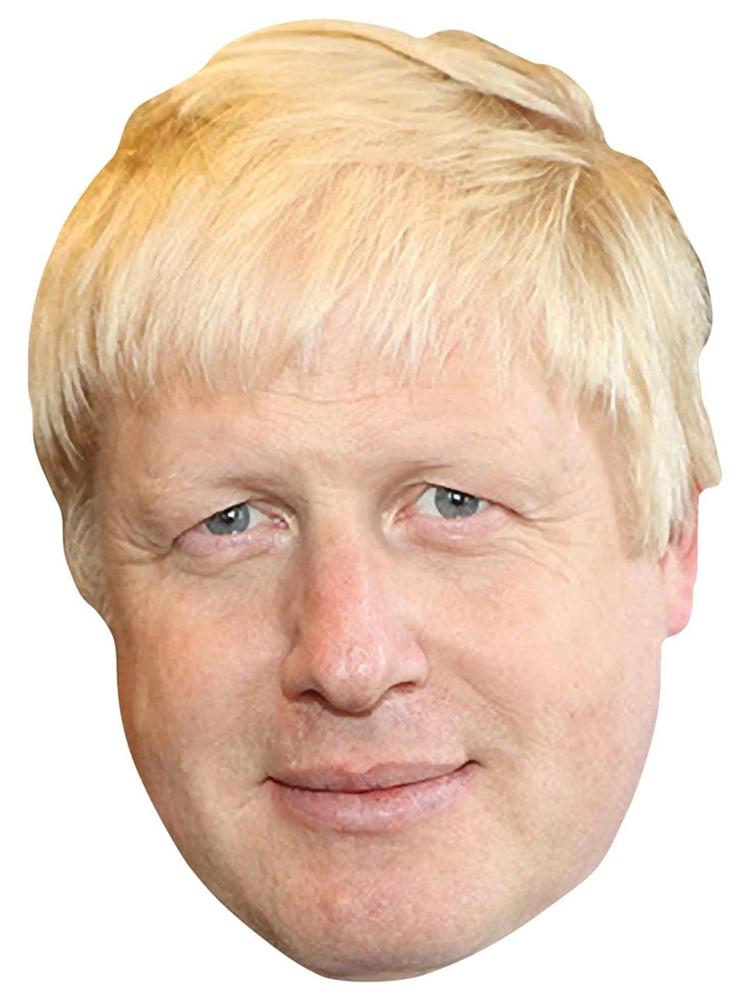 Boris Johnson 6 Mask Pack Politician