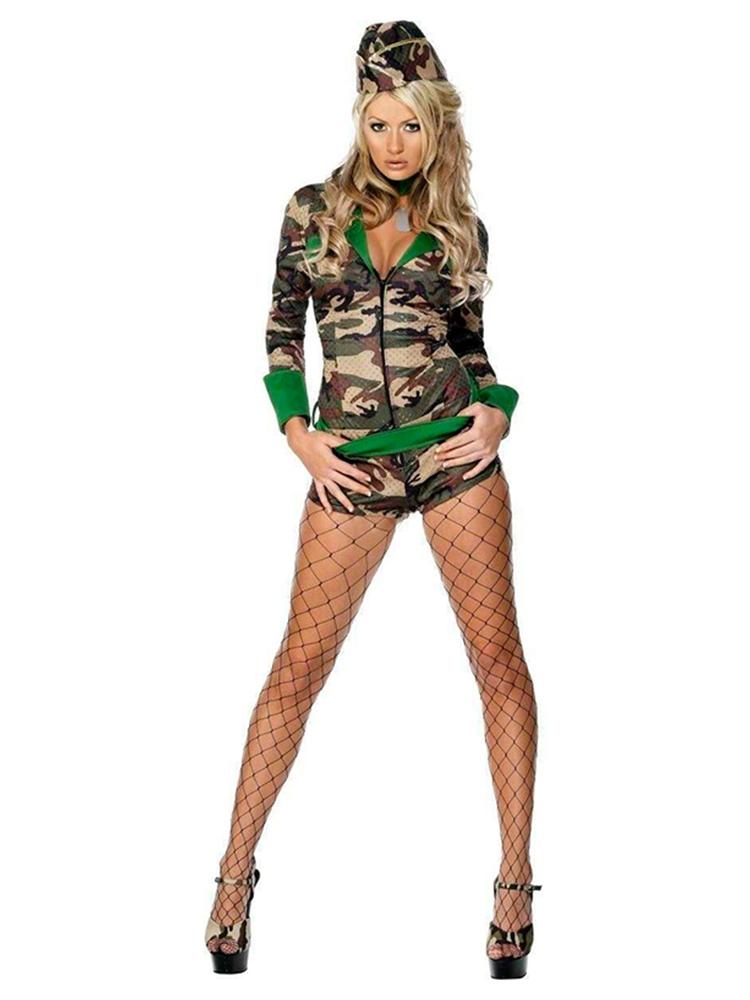 Deluxe Combat Chick Costume