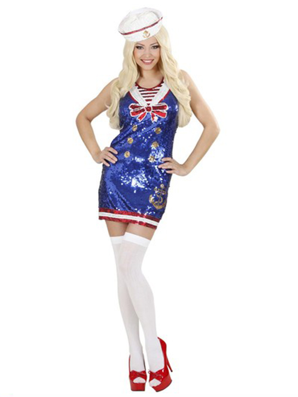 Sailor Girl Sequin (Dress Hat)