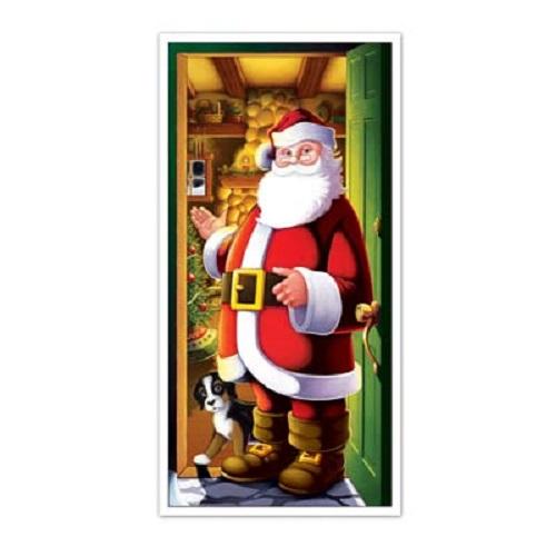 """Santa Door Cover 30"""" x 5'"""