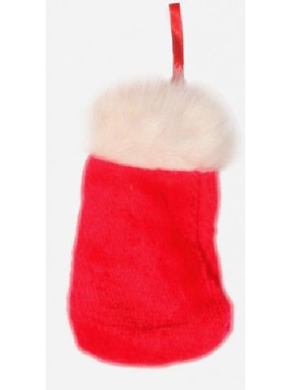 Santa Fur Trim Stocking