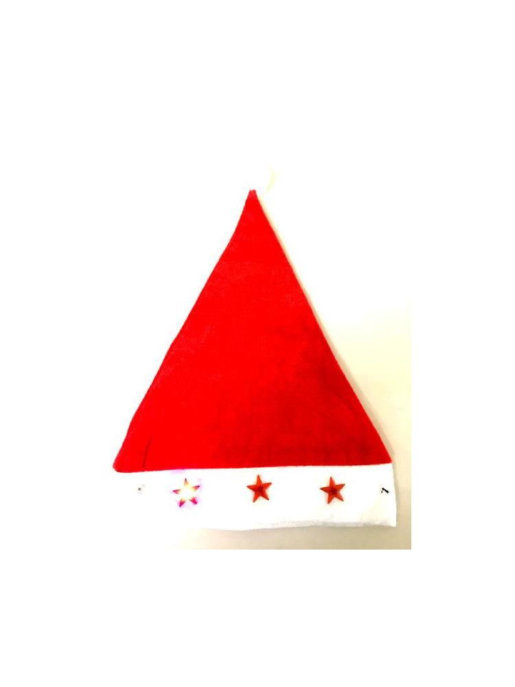 Santa Hat with 3 Chasing Lights