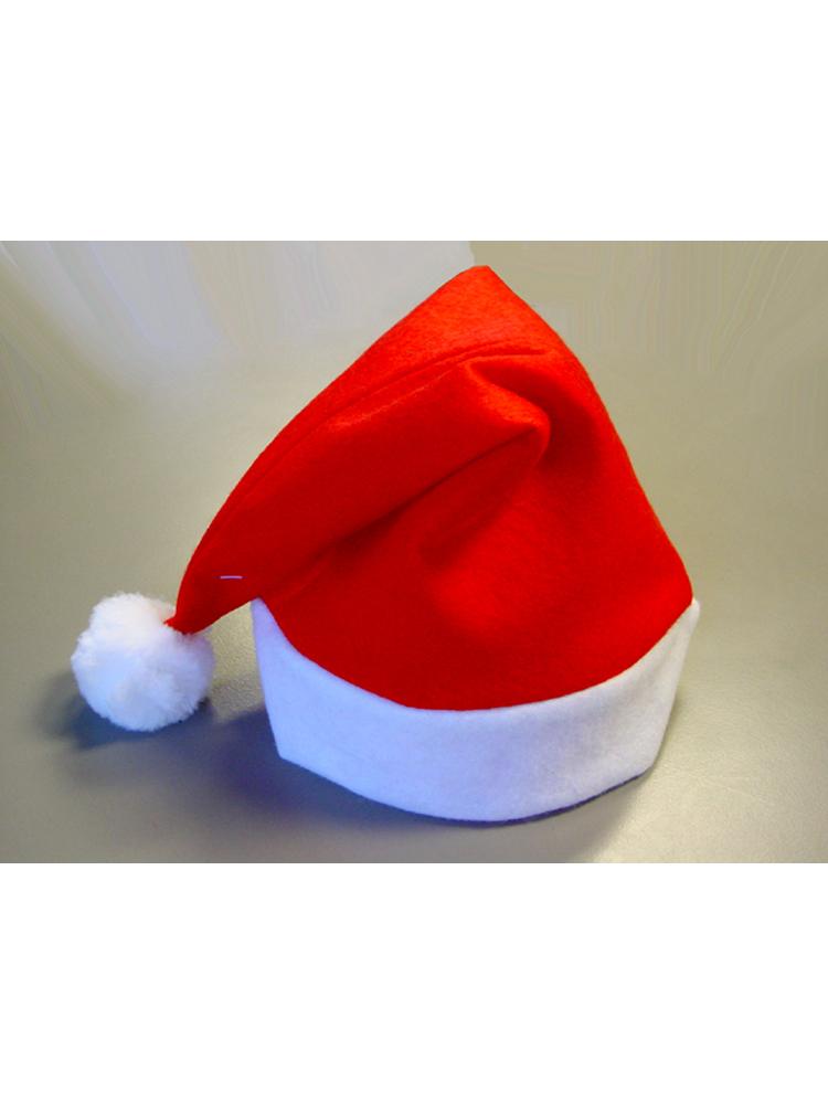 Santa Red Felt Hat - SPECIAL OFFER - (12 Hats in total)