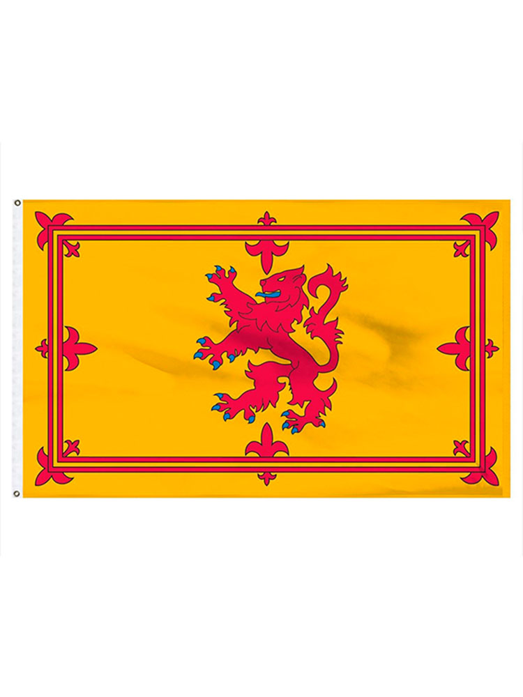 Scotland Lion Flag 5ft x 3ft With Eyelets For Hanging
