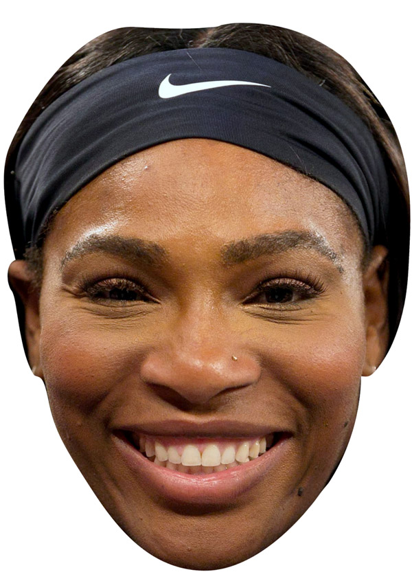 Serena Williams Mask