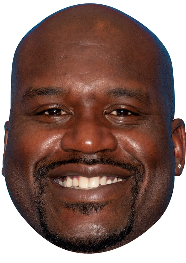 Shaquille O'Neal Mask