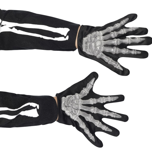 Skeleton Gloves - Child
