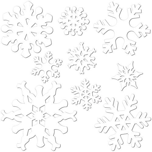 Snowflake Cutouts
