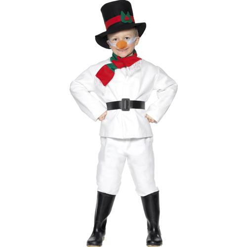 Snowman Costume, White