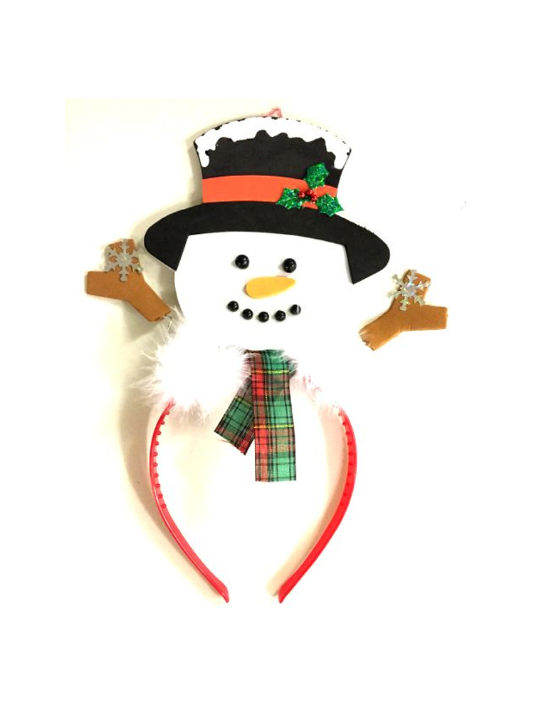 Snowman on Headband