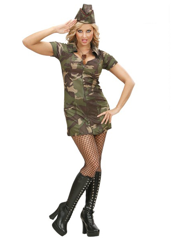 Soldier Girl (Dress Hat)