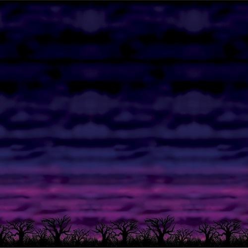 Spooky Sky Backdrop 4' x 30'