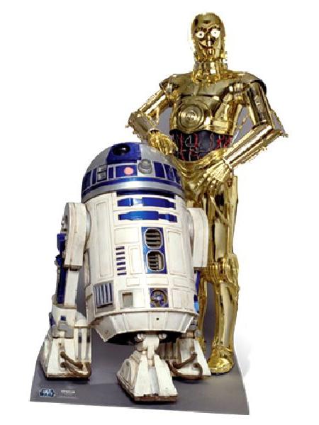 Star Wars -The Droids Cutout