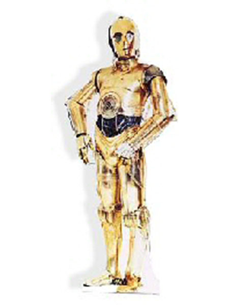 Star Wars C-3PO Cardboard Cutout