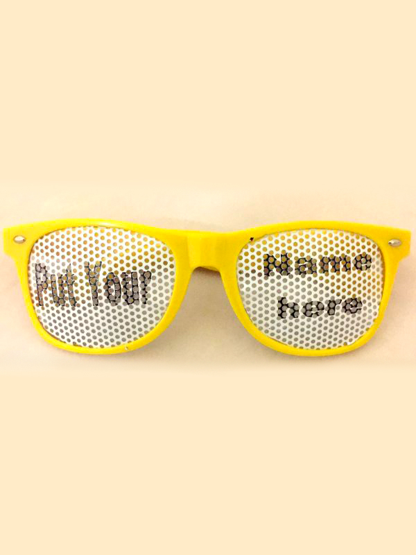 Sunglasses Branded Lenses
