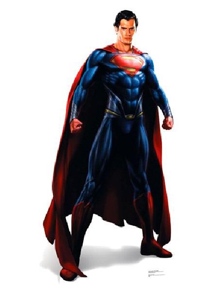Superman Cardboard Cutout