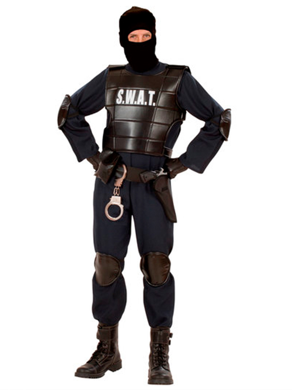 Swat Officer Man Costume