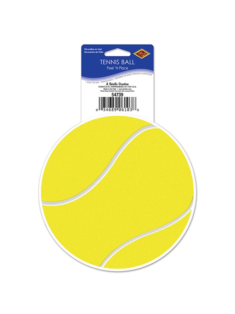 "Tennis Ball Peel 'N Place 5¼"""