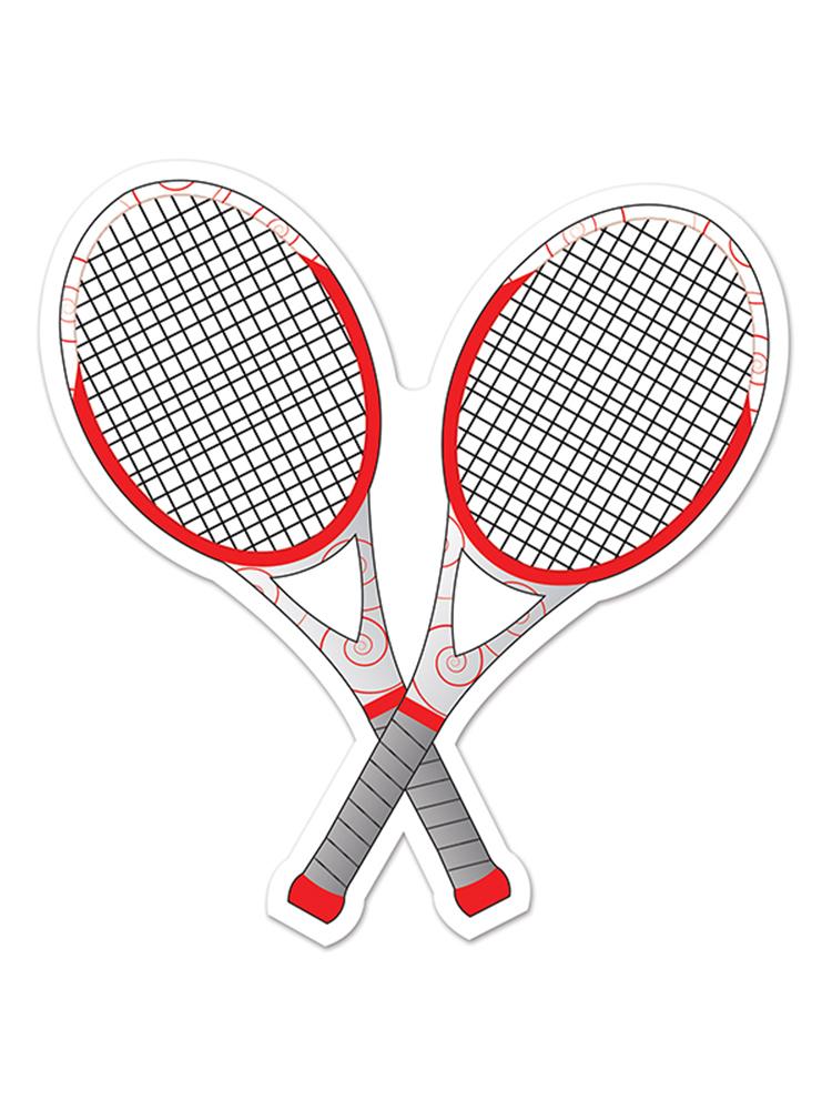 """Tennis Racquets Cutout 10"""""""
