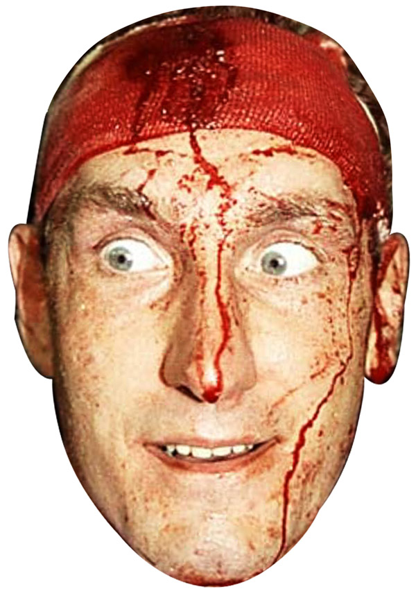 Terry Butcher Blood Mask