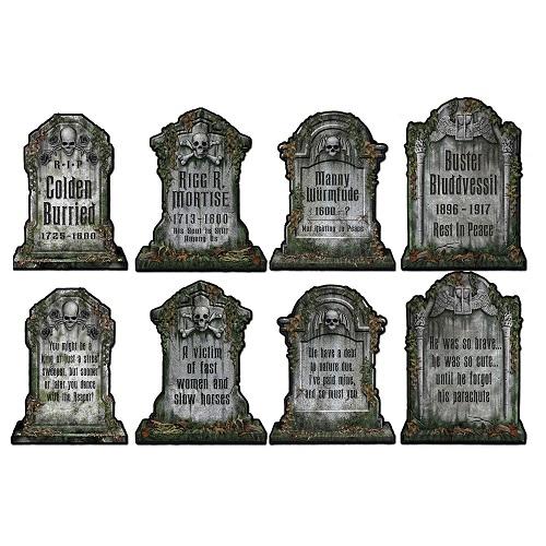 "Tombstone Cutouts 16"""