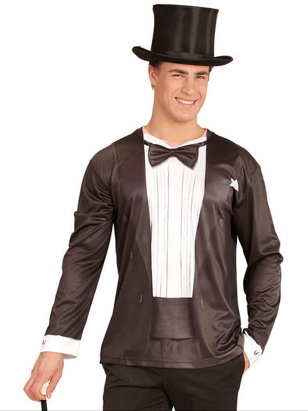 Tuxedo (Long Sleeve T-Shirt)