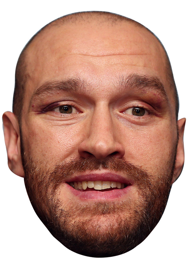 Tyson Fury Mask