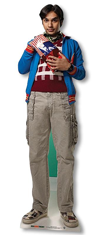 Raj Koothrappali The Big Bang Theory - Cardboard Cutout