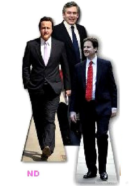 UK Political Party Leaders Cardboard Cutouts