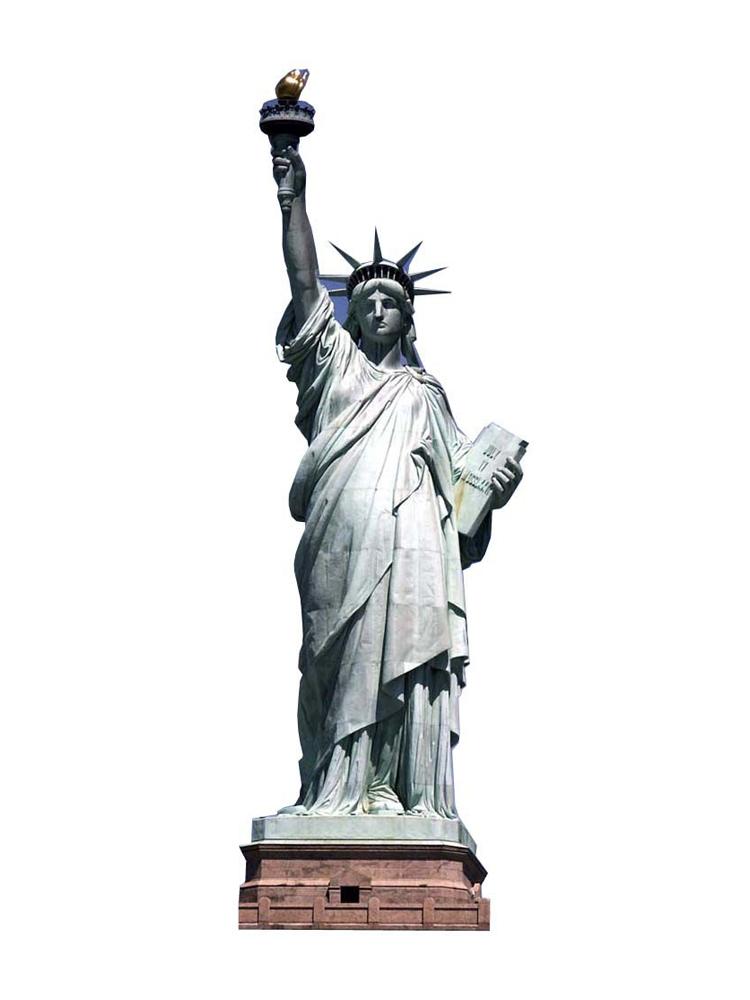 USA American 'Statue Of Liberty' Cardboard Cutout