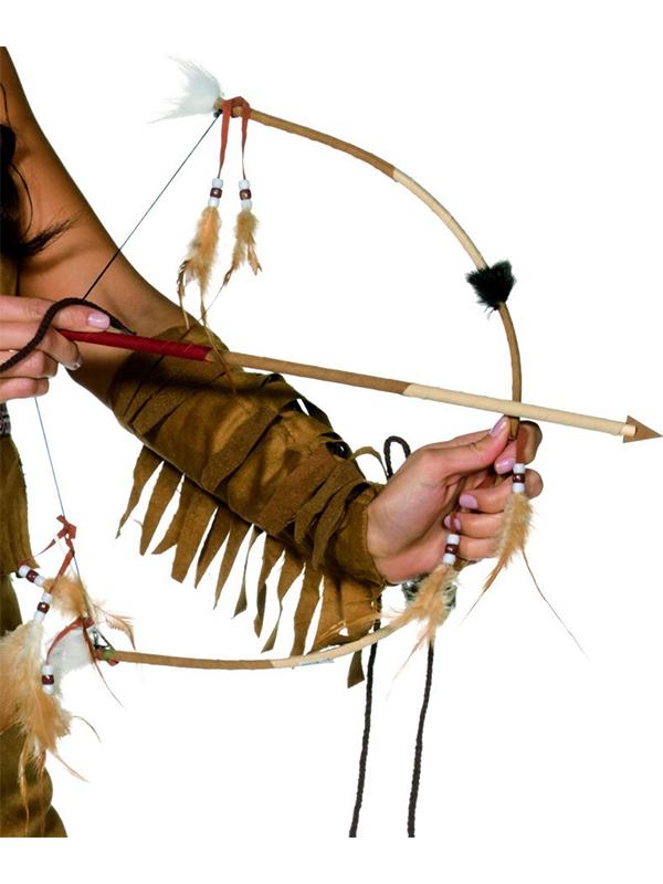 Feathered Bow & Arrow Set