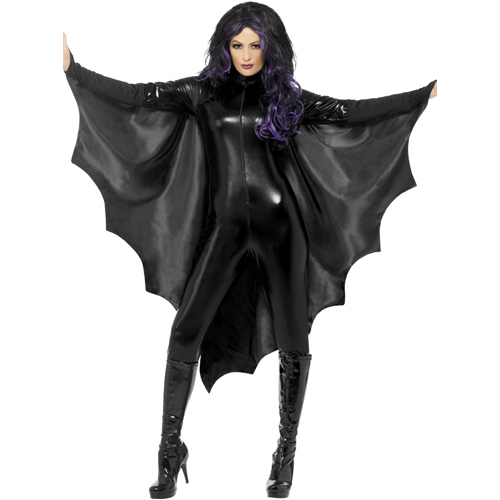 Vampire Bat Wings,Black