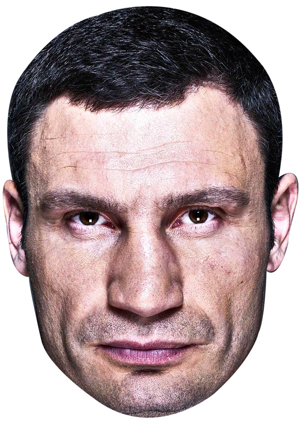 Vitali Klitschko Mask