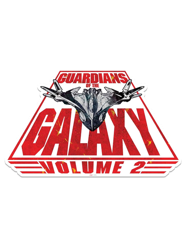 Guardians of the Galaxy Spaceship Milano Wall Mounted Cardboard Cut Out (WMCCO)