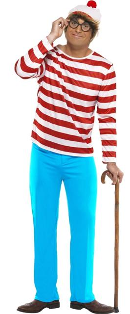 Where's Wally Costume (12345)