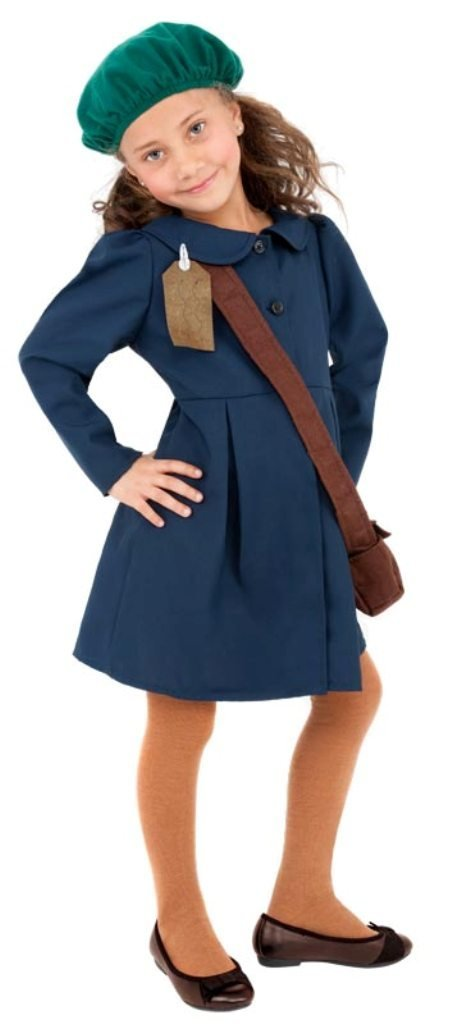 World War 2 Evacuee Girl Costume