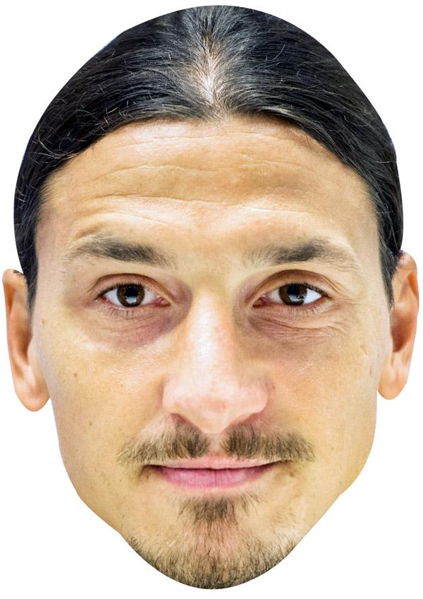 Zlatan Ibrahimovic Mask