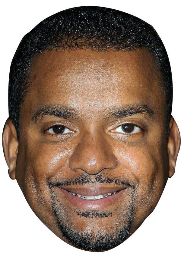 Alfonso Ribeiro Mask Novelties Parties Direct Ltd