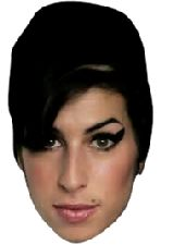 Amy Winehouse Face Mask